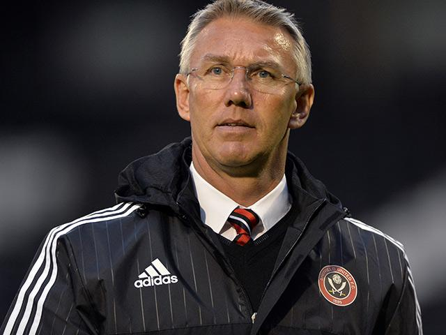 Blades manager Nigel Adkins again looks on as his side fall short against Southend Utd