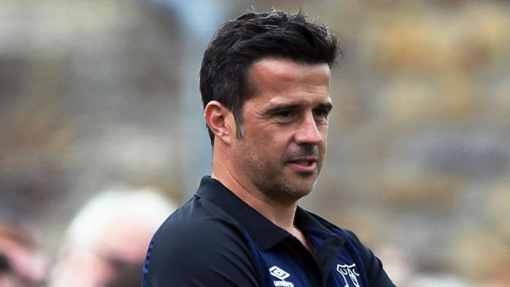 Everton manager Marco Silva.