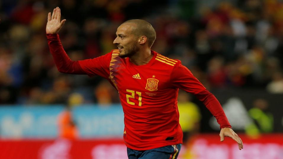 Spain midfielder - David Silva