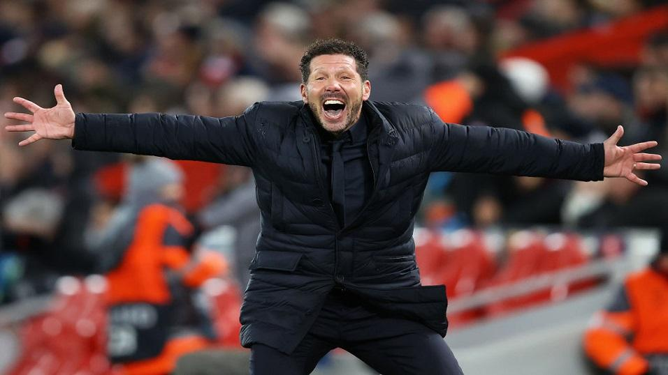 Atletico Madrid manager - Diego Simeone