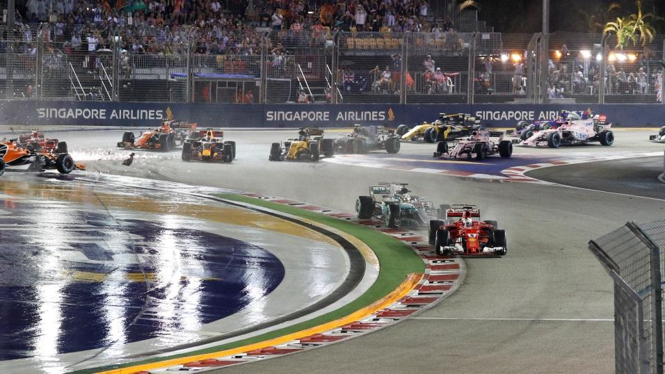 The Singapore Grand Prix of 2017