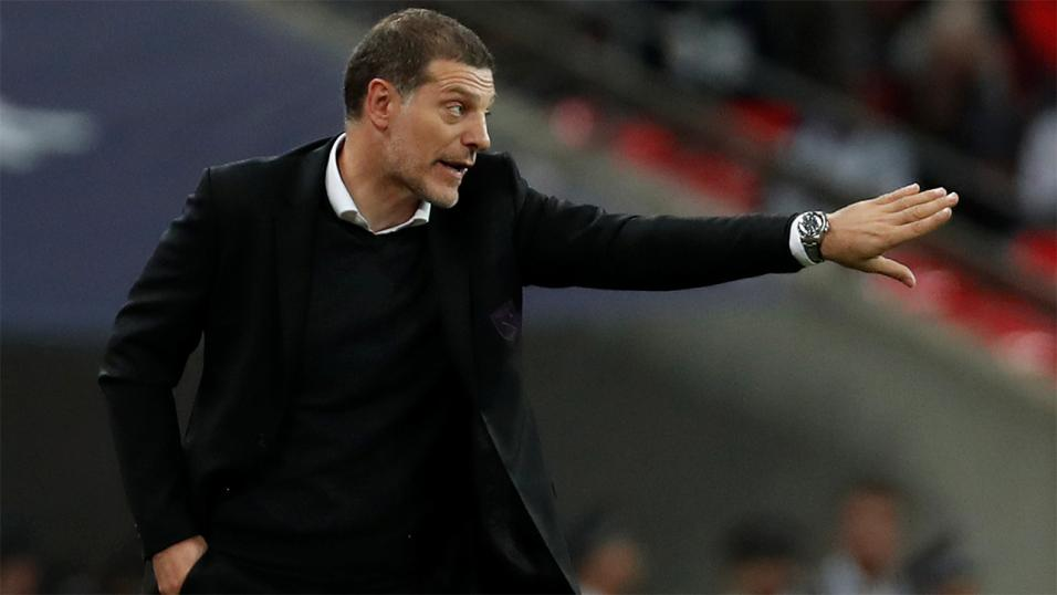 West Brom manager Slaven Bilic