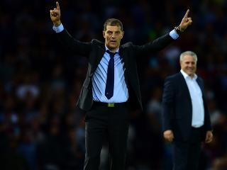 Will Slaven Bilic be celebrating after West Ham's match with Norwich?