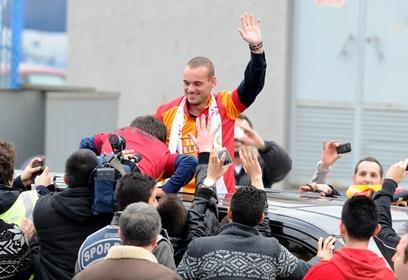 Wesley Sneijder remains a Champions League menace