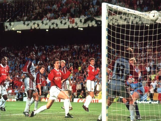 """And Solskjaer has won it!"""