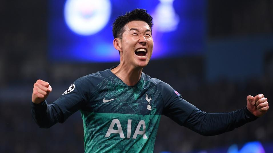 Spurs striker Son Heung-min