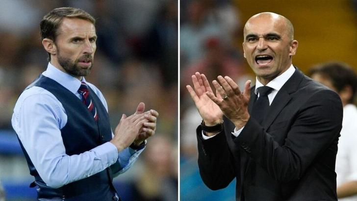 Gareth Southgate and Roberto Martinez