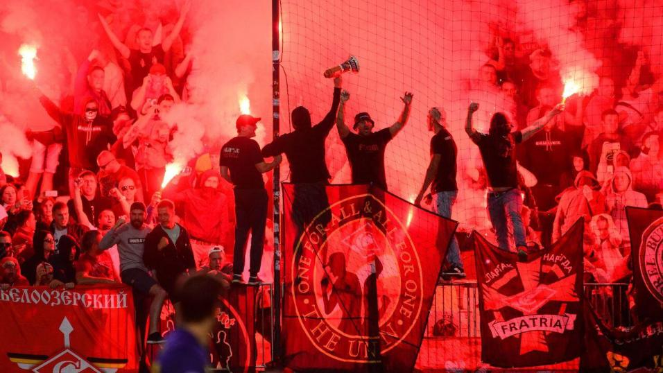 Spartak Moscow football fans
