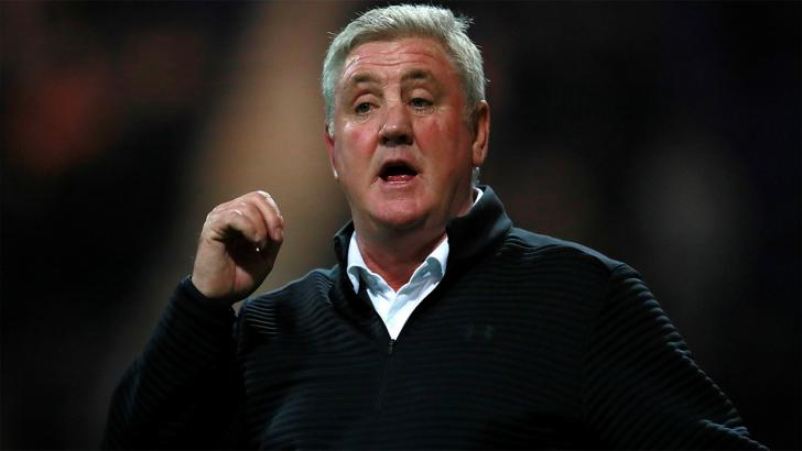 Newcastle manager, Steve Bruce
