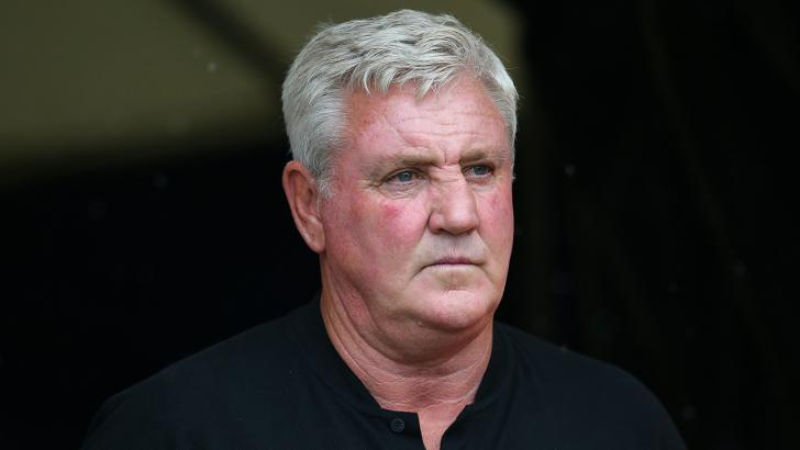 Newcastle manager Steve Bruce.