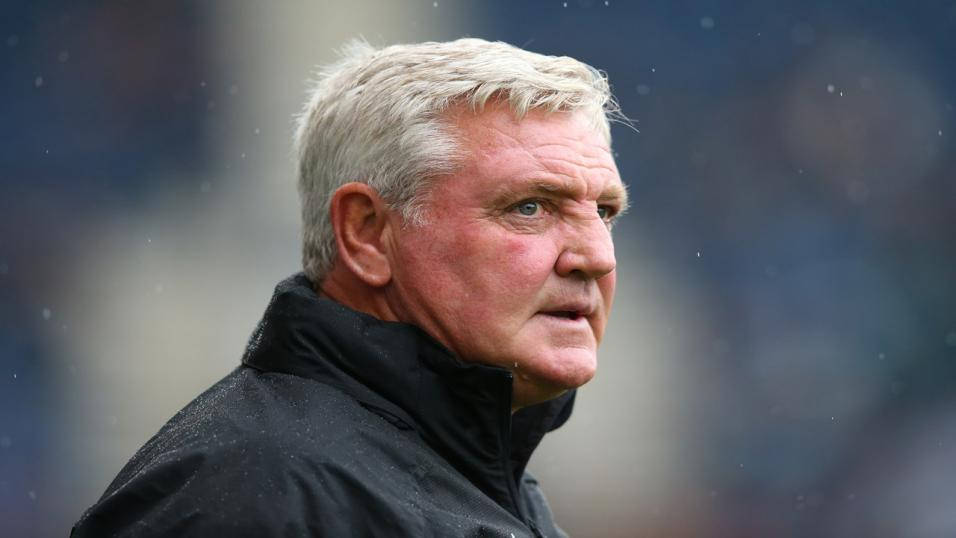 Newcastle boss Steve Bruce has his team on the up