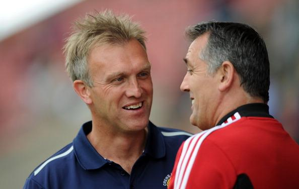 Crewe Alexandra manager Steve Davis (pictured left) will be hoping for another clean sheet on Saturday
