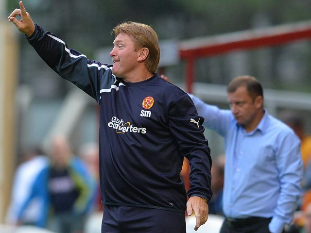 Having once led Motherwell to the Champions League, Stuart McCall may now relegate them to the Championship