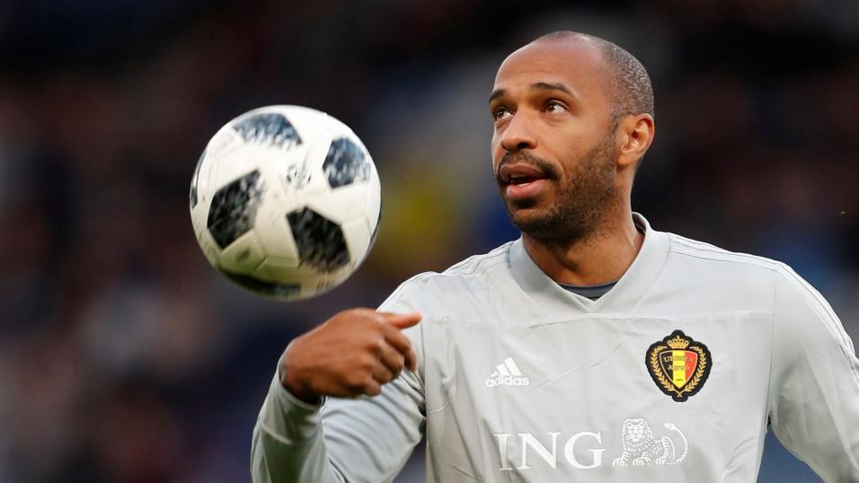 Thierry Henry Belgium Assistant Coach