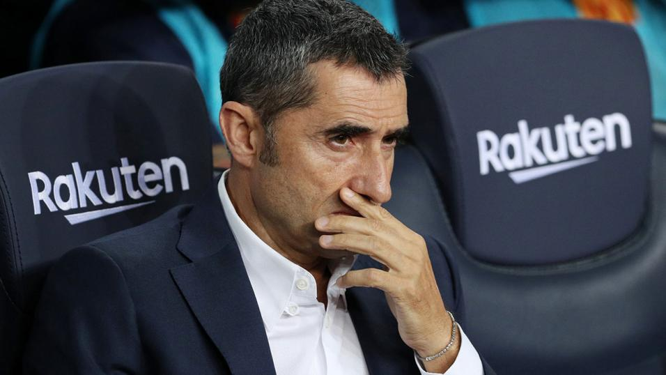 Barcelona boss Ernesto Valverde praises Messi after hat-trick against PSV