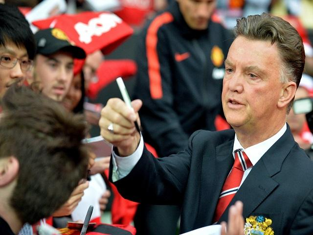 Louis van Gaal wants a striker but one the media haven't yet linked with United