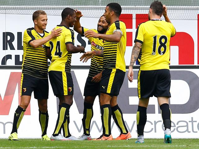 Three Watford players scored 16 or more league goals last season