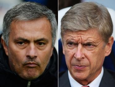 Mourinho and Wenger meet again...