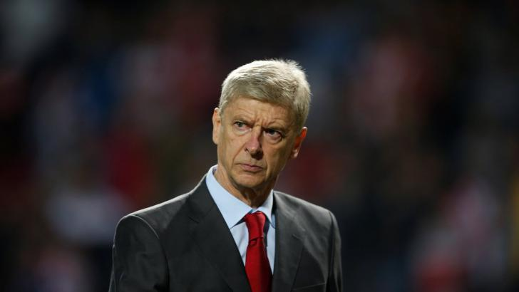 The pressure is mounting on Arsene Wenger
