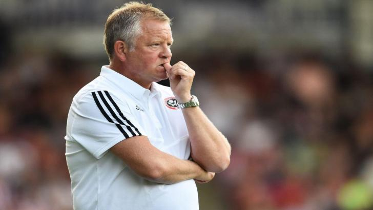 Blades boss - Chris Wilder
