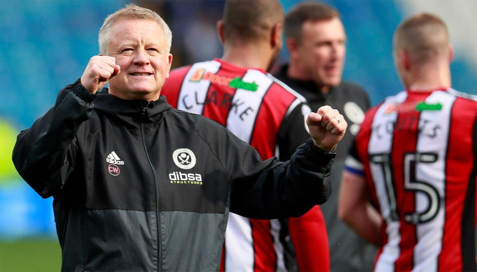 Chris Wilder is aiming to take Sheffield United back into the Premier League