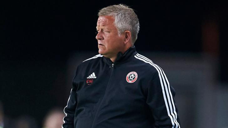 Blades manager, Chris Wilder