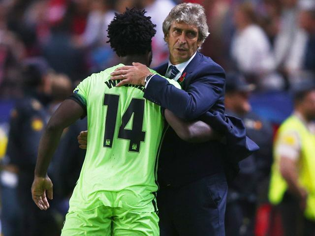 Wilfried Bony scored his fourth goal in six Man City appearances in the win at Sevilla