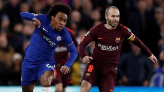 Willian and Andrés Iniesta