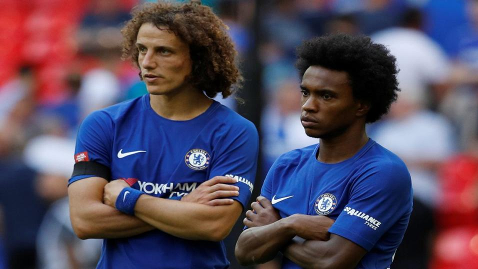 Luiz and Willian, Chelsea