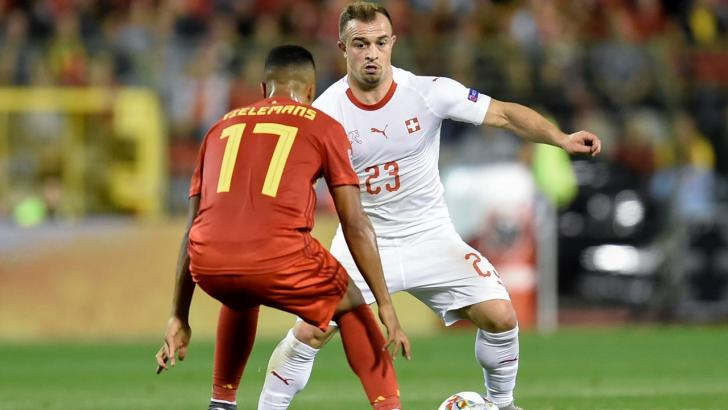 Xherdan Shaqiri: Starred in Switzerland's semi-final