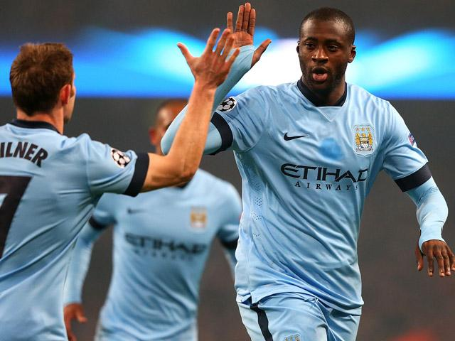 Yaya Toure has maintained a healthy Etihad Stadium strike rate