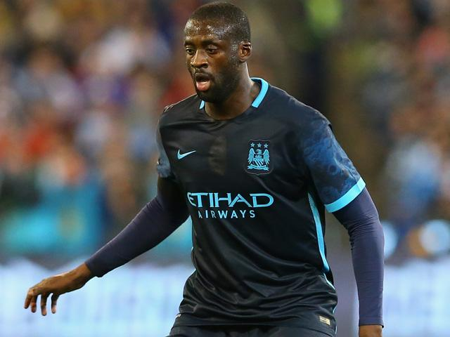 Yaya Toure looked back to his old self on Monday night