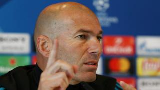 Real Madrid manager - Zinedine Zidane