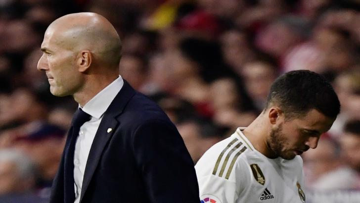 Eden Hazard's injury woes have been a disappointment to him and Zinedine Zidane