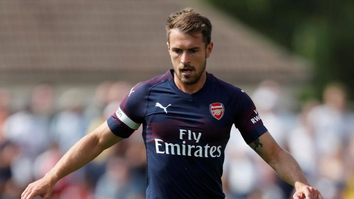 Arsenal Footballer Aaron Ramsey
