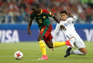 Cameroon striker Vincent Aboubakar can be a real handful