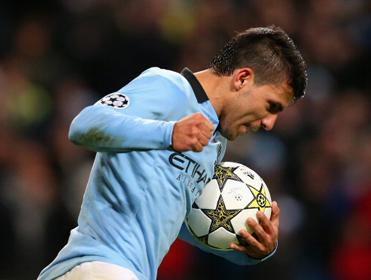 Sergio Aguero scored a superb equaliser at Stamford Bridge