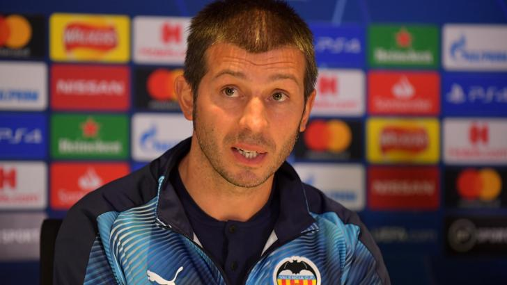 Valencia manager Albert Celades.