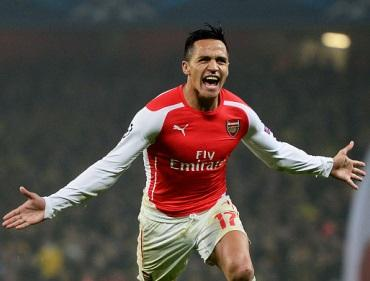 Alexis Sanchez will be difficult to stop on Wednesday night