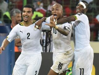 Andre Ayew and Ghana could be on the end of an upset from Mali
