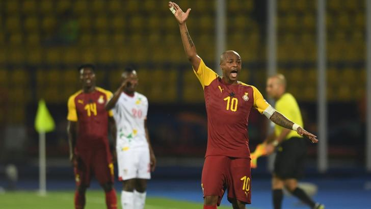 Fenerbahce and Ghana winger Andre Ayew