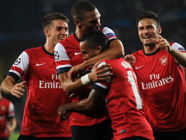 Not so grim up North London: Arsenal are in good scoring form