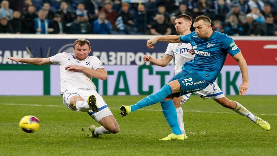 Zenit and Russia striker Artem Dzyuba