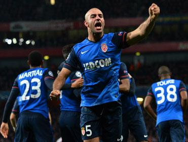 Aymen Abdennour impressed for Monaco at the Emirates