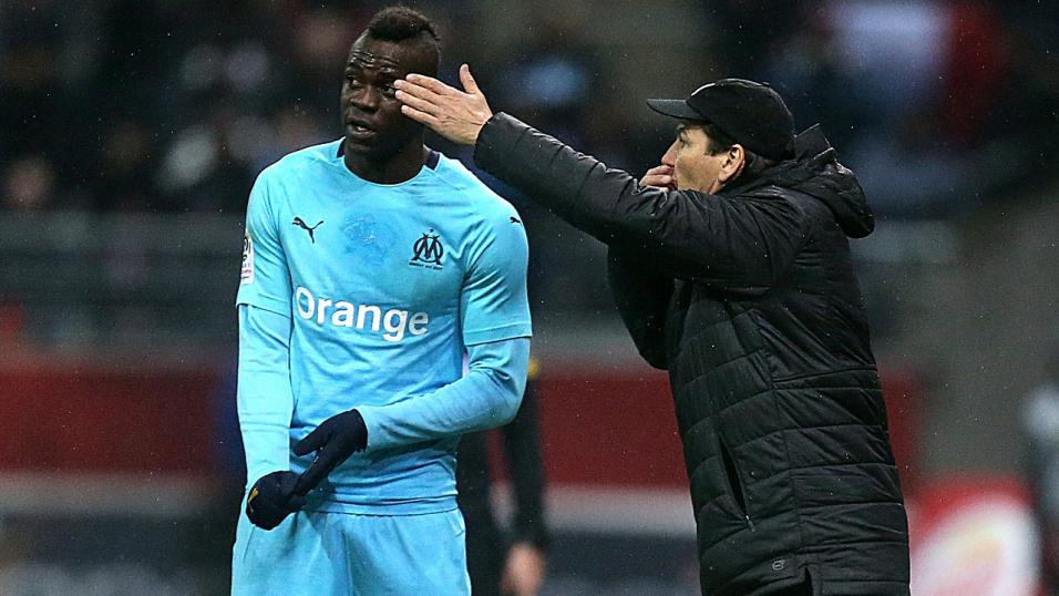 Italy and Marseille striker Mario Balotelli
