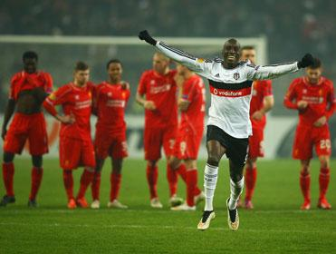 Besiktas recovered a one-goal away deficit in the last round