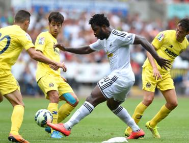 Can Wilfried Bony prove to be the difference for Swansea when they face Burnley?