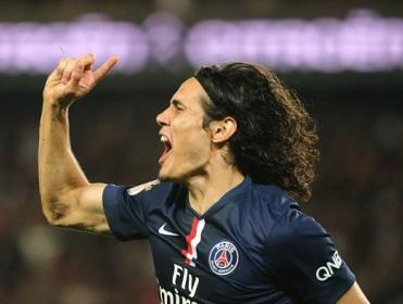 Edinson Cavani could be PSG's main threat