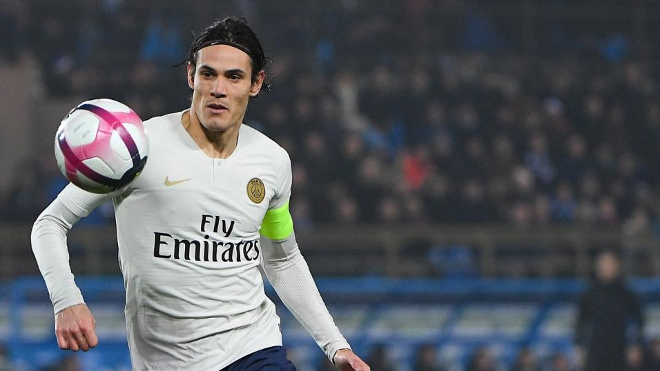 Uruguay and PSG striker Edinson Cavani