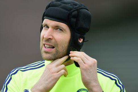 Cech prepares for a night out in Kensington
